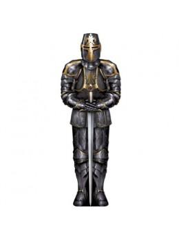 Déco armure carton black knight 1m80