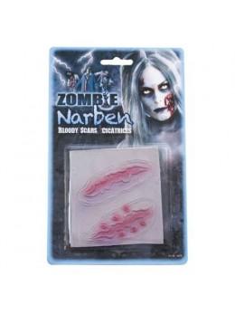 Plaque cicatrices zombie