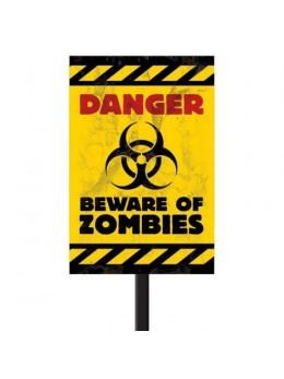 Pancarte Danger Zombies