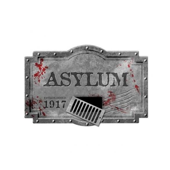 Déco horreur asile de psychopathe