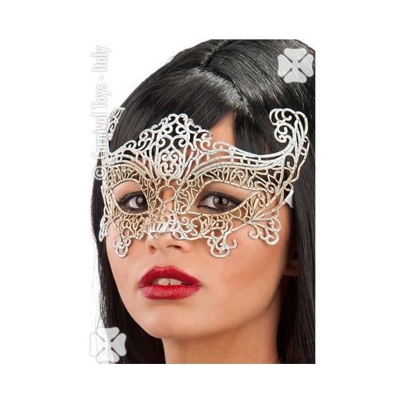masque pas cher pour femme avec dentelle argent carnaval bal masqu. Black Bedroom Furniture Sets. Home Design Ideas