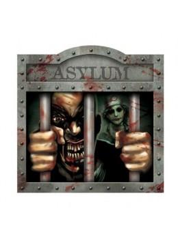 Déco cutout asile prisonnier