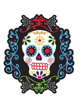 Déco cutout squelette Dia de los muertos