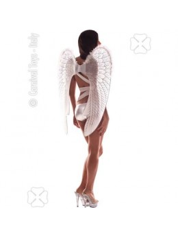 Ailes d'ange blanches et marabout