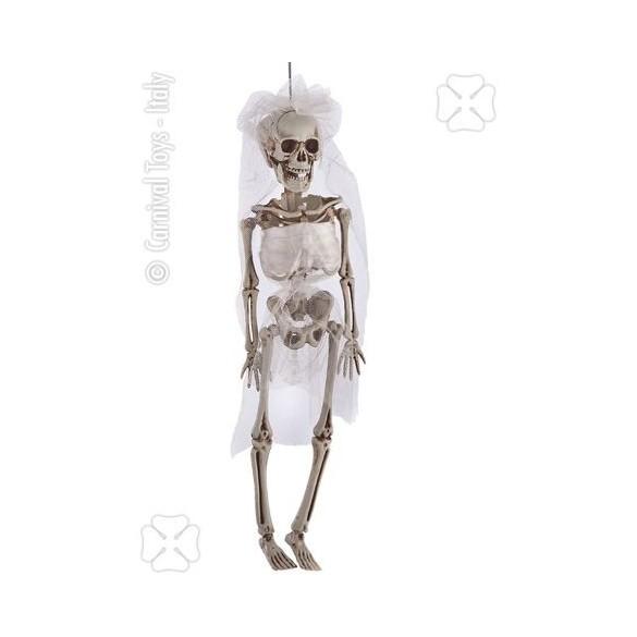 Déco squelette mariée 40cm