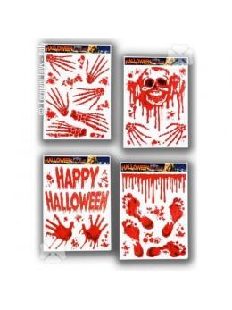 Déco vitrostatique Halloween