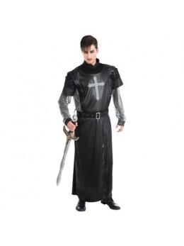 Déguisement chevalier croisé noir