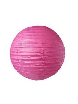 Lampion ballon fuchsia 25cm