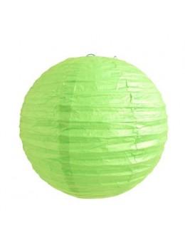 Lampion ballon vert anis 25cm
