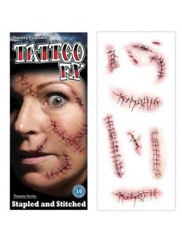 tatouage points de sutures