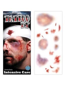 Planche tatouages soins intensif