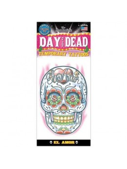 Tatouage Day of the dead amour