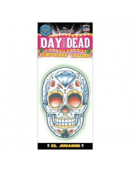 Tatouage Day of the dead joueur