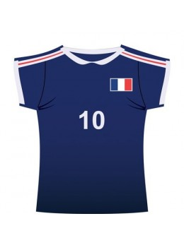 Décor maillot de sport France