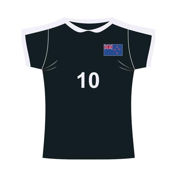Décor maillot de sport Nouvelle Zélande