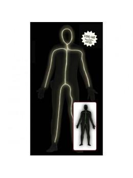 Déguisement homme lumière noire