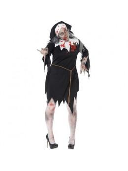 Déguisement Bonne soeur zombie grande taille