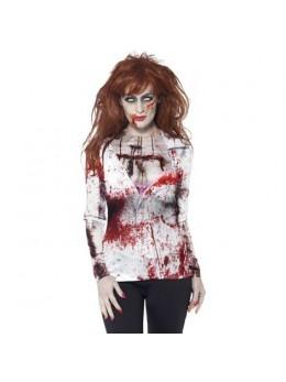 Déguisement T-shirt zombie