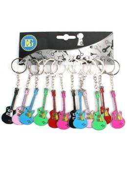 Porte clé guitare métal