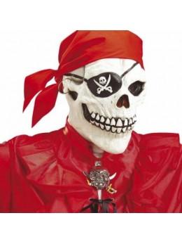 Masque squelette pirate bandana