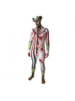 Déguisement morphsuit clown psycho