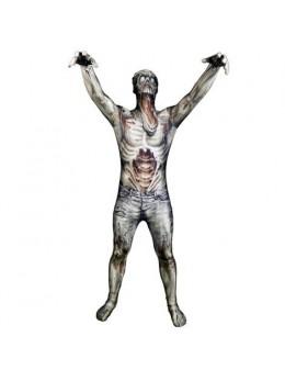 Déguisement morphsuit zombie