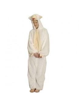 Déguisement mouton blanc