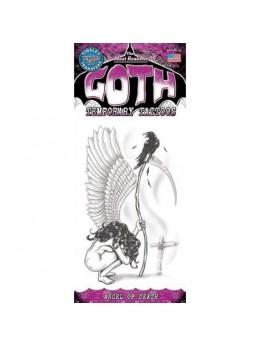 Tatouage gothique ange de la mort