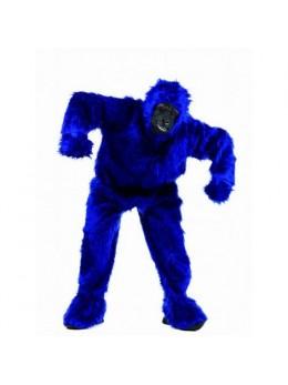 Déguisement Gorille luxe bleu roi