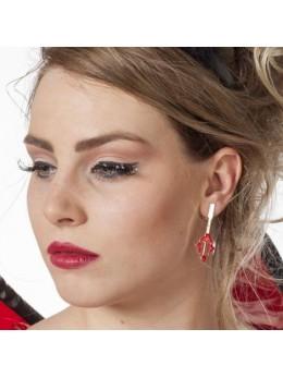 Boucles d'oreilles trident