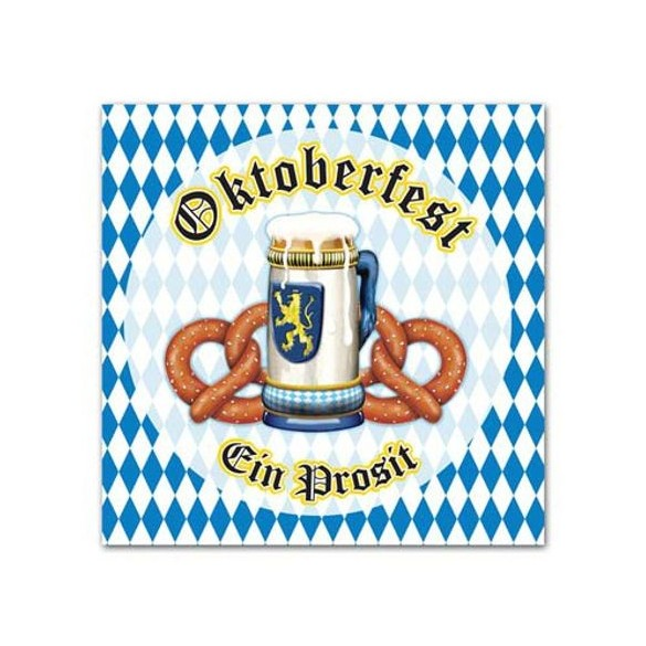 16 Serviettes lunch Oktoberfest