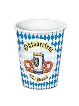 8 Gobelets Oktoberfest