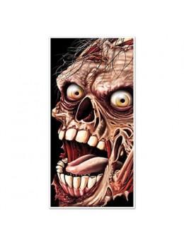 Déco poster zombie