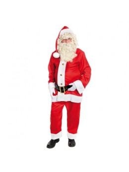 Costume Père Noël américain gabardine