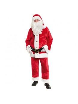 Costume père Noël américain peluche