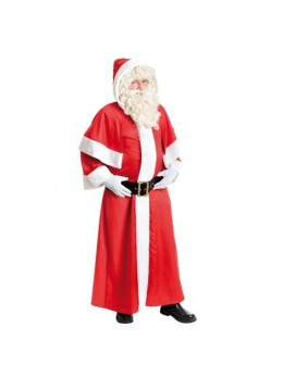 Costume père Noël européen gabardine
