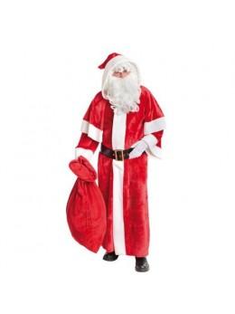 Costume père Noël européen peluche