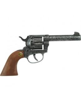 Pistolet métal Magnum antique 22cm