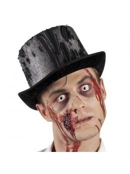 Chapeau haut de forme zombie