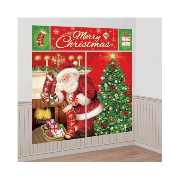 Décor complet Merry Christmas