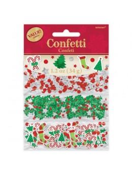 Confetti 3 thèmes Noël