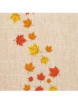 Chemin de table automne toile de jute