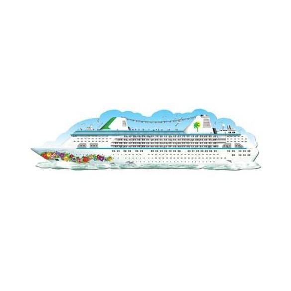 Décor bateau de croisière 1m50