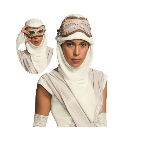 Masque avec cagoule Rey starwars VII