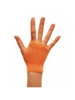 Mitaines fluo orange