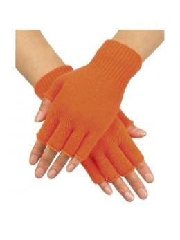 Mitaines trico orange