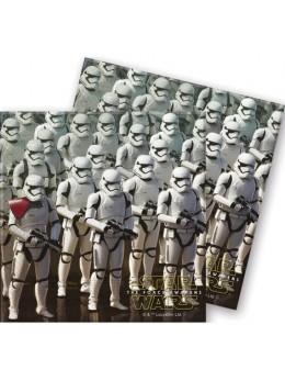 20 Serviettes en papier Star Wars VII™