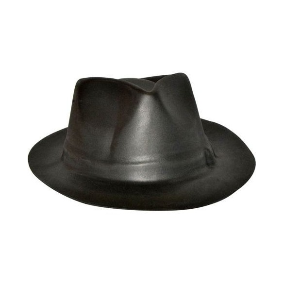 Borsalino latex noir