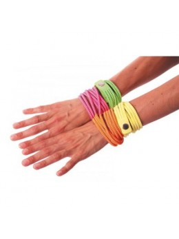 Bracelet fashion néon jaune
