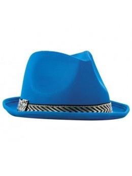 Chapeau Tony polyester bleu